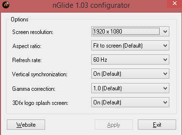 nglide-tomb-raider-configuration