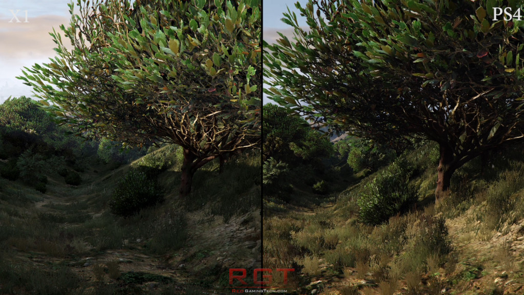foliage-x1-vs-ps4-gta