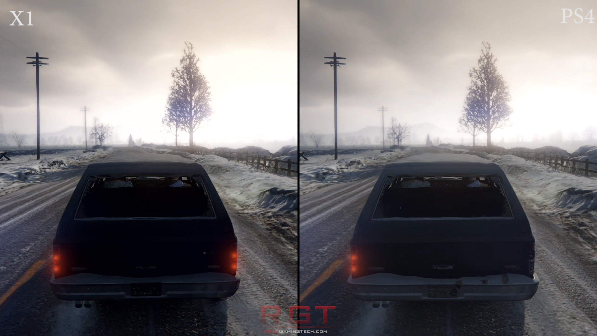 Grand Theft Auto 5 Xbox One Vs Playstation 4 Graphics Comparison Game Ps4 V Redgamingtech