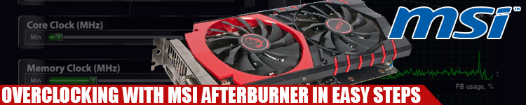 Overclocking GeForce GTX 960 (or Any GPU) With MSI's Afterburner In