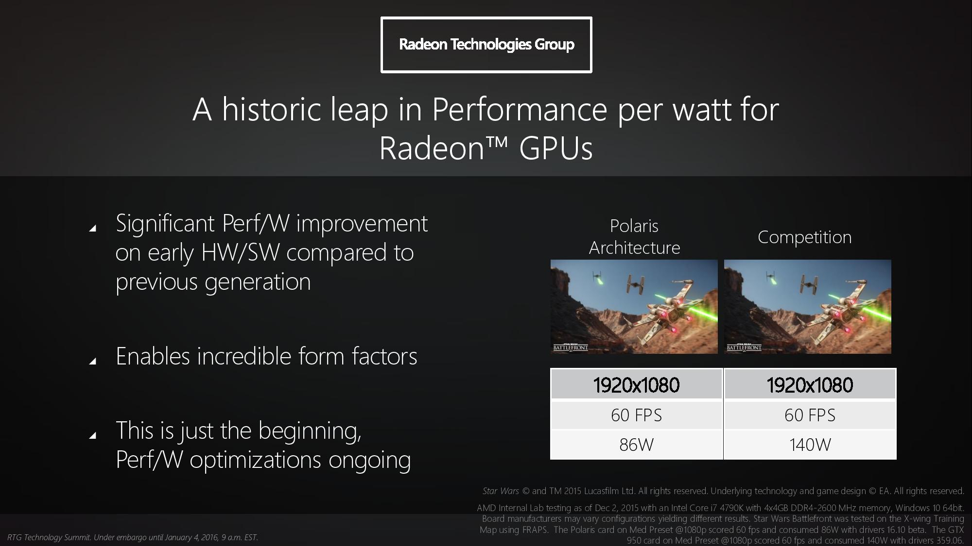 AMD Radeon Polaris - Coming to a PS4 near you?