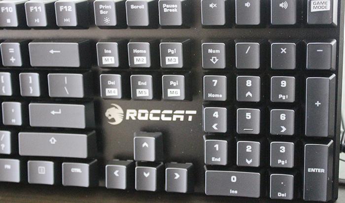 Roccat Suora macro keys