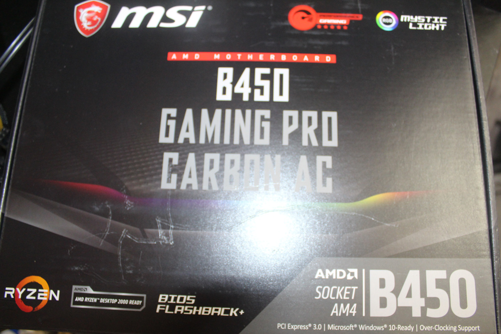 MSI B450 Gaming Pro Carbon AC & Ryzen 5 2600X Review RedGamingTech